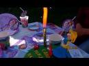 Холодный фонтан фейерверк для праздничного торта