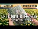 ШАНСОН (КЛИПЫ ШАНСОНА). Александр Соколов - А я песни пою про осень. КОНЦЕРТ.