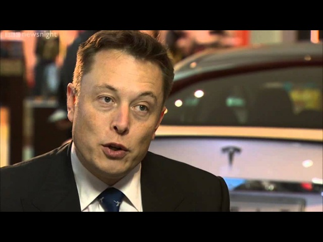 Elon Musk: 'Life has to be about more than just solving problems' - BBC Newsnight