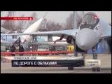 Эксклюзивные кадры: пилоты Су-35 готовятся к авиадартсу
