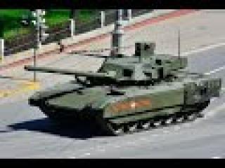 Танк Т-14 Армата обзор. Русская военная техника 2015. Основной боевой танк России
