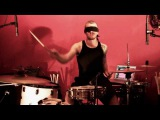 Aphex Twin Flim - Live Drums by Ben Anderson