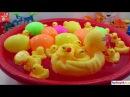 Vịt mẹ con làm xiếc đẻ trứng khủng long, Toy duckling, Toy dinosaur eggs, Jouet caneton