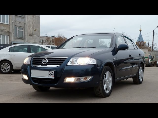 Nissan Almera Classiс 2007 - Секонд Тест