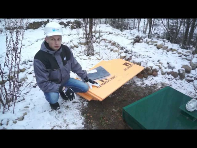 Консервация канализации для загородного дома на зимний период