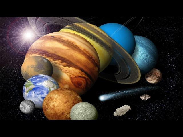 Земля на своей орбите Развивающий мультфильм о космосе