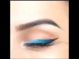 Это волшебный #макияж #стрелки, выполненные с вдохновением.
