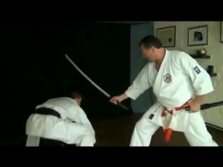 Bunkai from Heian shodan kata.