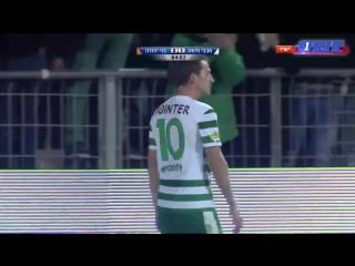 Rubén Rayos (Maccabi Haifa) casse la jambe de Rafi Dahan (Bnei Yehuda Tel Aviv)