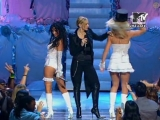 Madonna, Britney Spears  Christina Aguilera - Like A Virgin  Hollywood (MTV Video Music Awards) (2003) Live