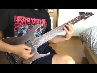 BABYMETAL - THE ONE  (YOSHI-METAL Version) Guitar Cover