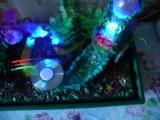Цветной фонтан с бегущим огнём. 3700р.