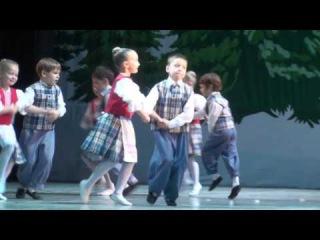 Камилла Круглова (6 лет) - народно-характерный танец