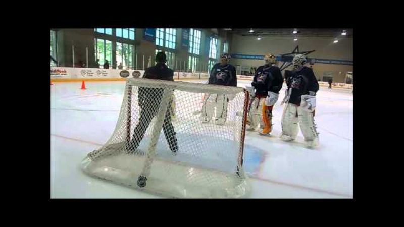 Blue Jackets Goaltender Instruction and Marianne Watkins Skating Instruction