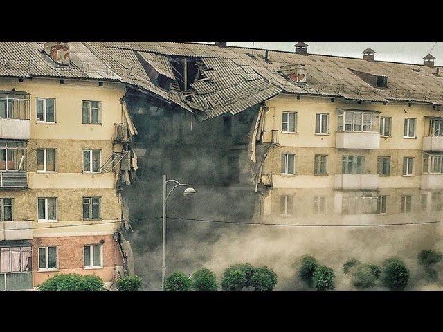 Обрушился дом в Междуреченске (видео)