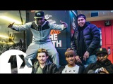 Footsie, SafOne, Big Zuu and DJ Jack Dat with Sian Anderson