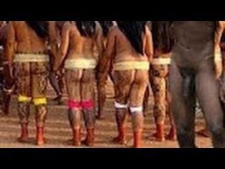 Brazil Documentary 2016 - New Isolated Amazon Tribe - Xingu Indians Amazon Rainforest Documentary