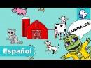 Old MacDonald in Spanish with BASHO FRIENDS - La Granja de MacDonald
