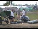 Sidecar wschowa - nieprzytomny na finishu