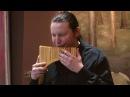 Най — молдавская и румынская многоствольная флейта. Владимир Косма. Мелодия из к/ф «Высокий блондин в чёрном ботинке»