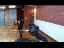 HEMA FENCING Military sabre sparring at Schola Gladiatoria Historical Fencing