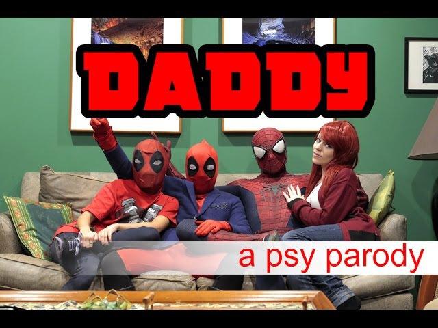 Deadpool vs Daddy PSY Parody