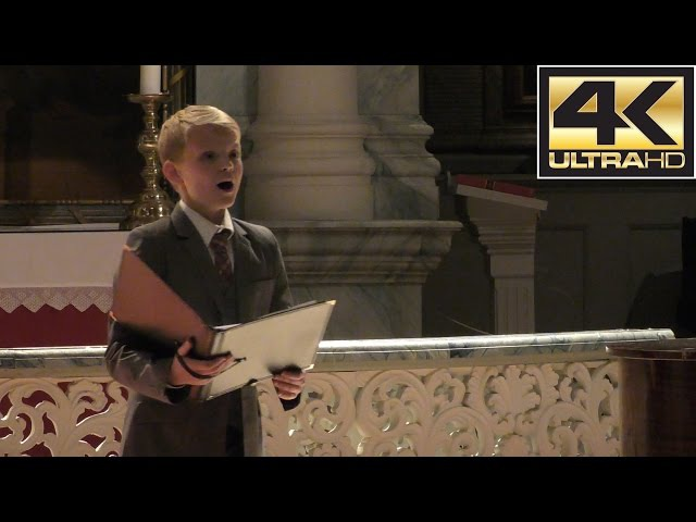 Alleluia (Exsultate, jubilate - Mozart) | boy soprano Aksel Rykkvin (12y) Stephen Hicks