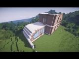 Красивый дом в майнкрафт - Timelapse - Серия 8.1 - Строительный креатив 2