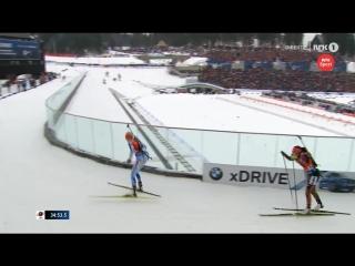 VM Oslo 2016_ Marie Dorin Habert wins mass-start GOLD - WCH-Queen