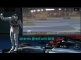Формула 1.Гран-При Бахрейна 2015.Борьба Кими Райкконена и Росберга за 2 место.