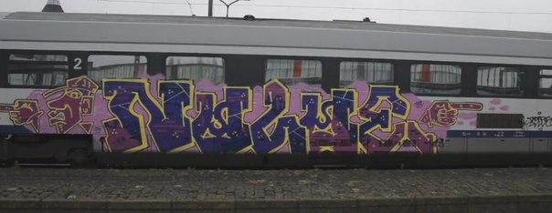 graffiti belgium trainwriting