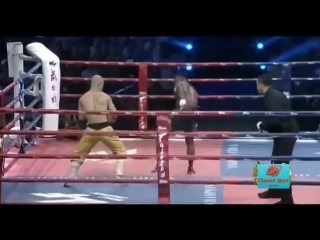 Бои без правил- Шаолиньский монах против тайского боксера- Buakaw vs Yi Long