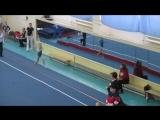 Соревнования посвященный памяти Зинаиды Ворониной (Дружининой) 20-21 февраля 2016 г. День 2, опорный прыжок