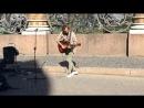 Уличный музыкант в Питере