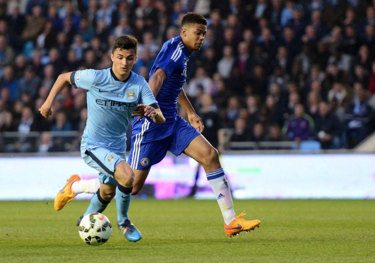 Manu garcia, MCFC - Chelsea, Fa Youth Cup u18 2014-15 finals, Mini-had