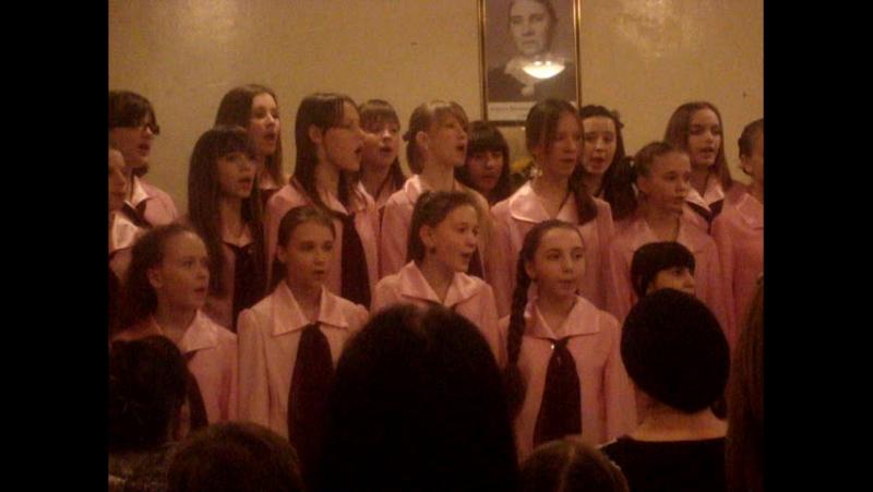 Люблю грозу в начале мая. Старший хор музыкальной школы М.В. Тельтевской