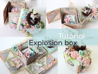 Super Easy Tutorial Explosion Box | Start to Finish | How to | Instructions