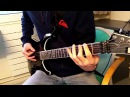 Amon Amarth On A Sea Of Blood Full Guitar Cover HD