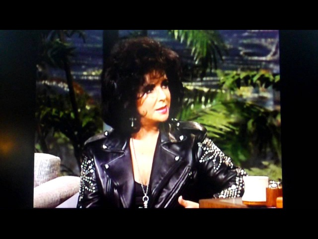 Elizabeth Taylor Tells Johnny Carson About Her Friendship with Michael Jackson