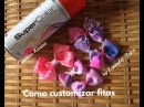 Como customizar fitas by Tatiana Karina how to customize tapes /cómo personalizar las cintas