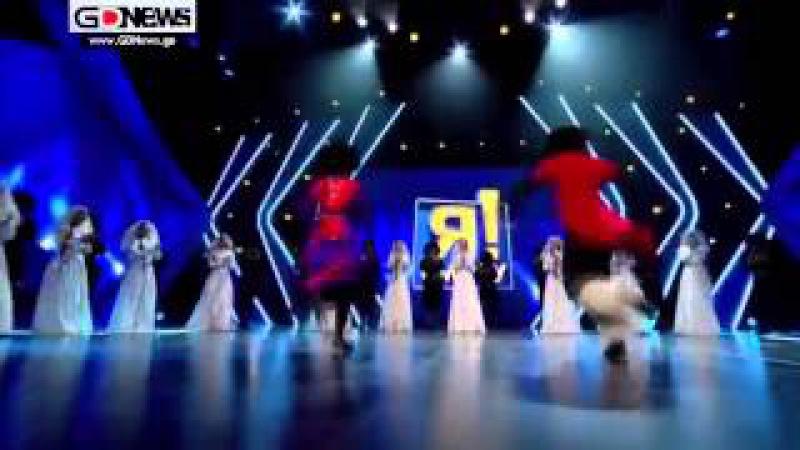ქართული ცეკვა რუსულ შოუში და დაშოკებული შ43