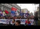 VELIKI ANTI NATO SKUP ZAVETNIKA Više od 15 hiljada srpskih patriota protiv NATO pakta 20 02 2016
