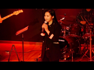 [fancam] 151209 yooara (ex-hello venus) - talk 2 @  health college last concert