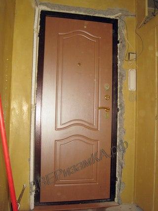 коломна установка железной двери недорого