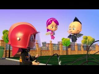 Ангел Бэби - Важная профессия - Детский мультик (16 серия)