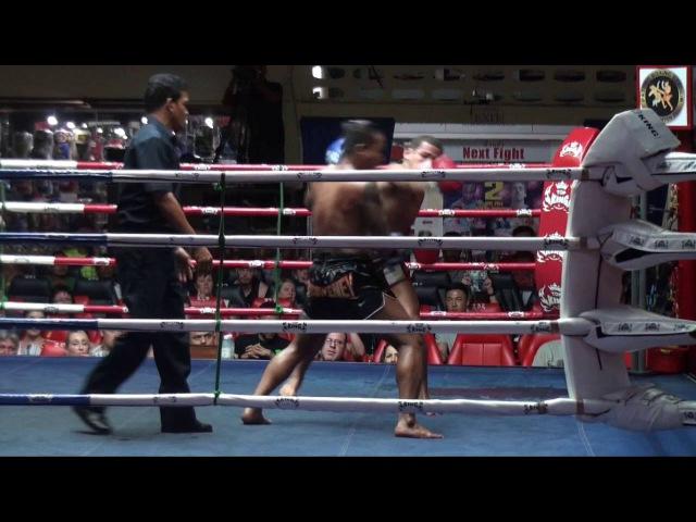 Kunchan (Tiger Muay Thai) vs Leandro (Phuket Fight Club) @ Patong Stadium 30/5/16