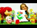 Поделки своими руками из пластилина ПЛЕЙ ДО видео для детей ЦВЕТИК-СЕМИЦВЕТИК