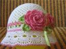 Летние детские шляпы крючком. Summer Crocheted Baby Hats. Ամառային մանկական գլխարկներ հե 138