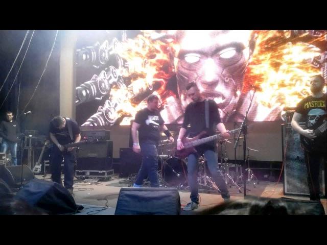 Bleed - Non-Organic Messiah (Loadfest VI, Lviv, 12.03.2016)