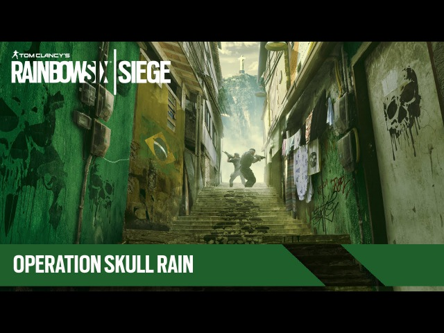 Tom Clancy's Rainbow Six Осада - Operation Skull Rain: Трейлер [RU]